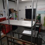 bespoke kitchen unit fabrication