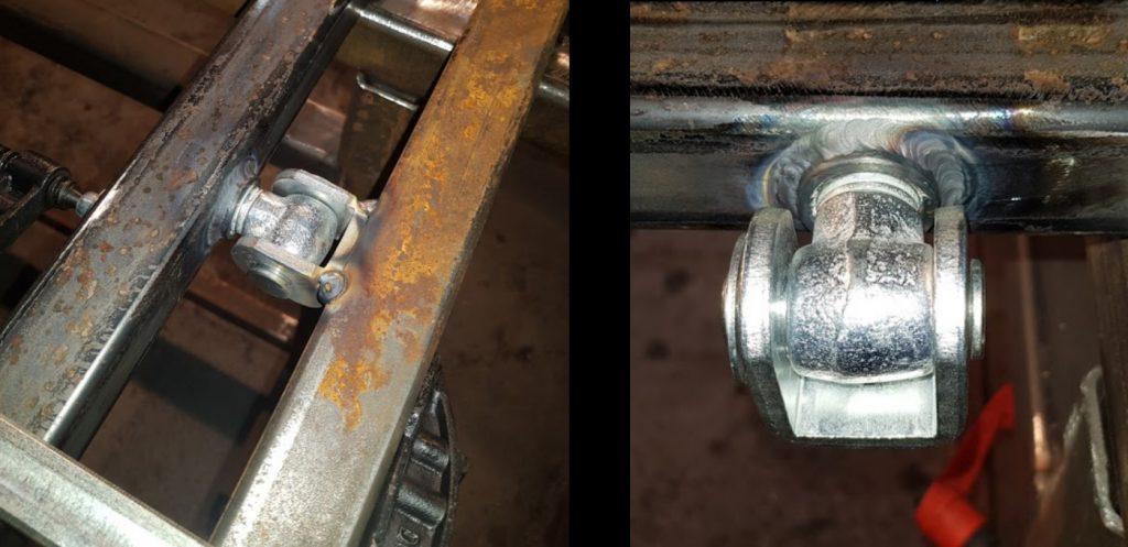Custom Steel Gate Fabrication. TIG Welding
