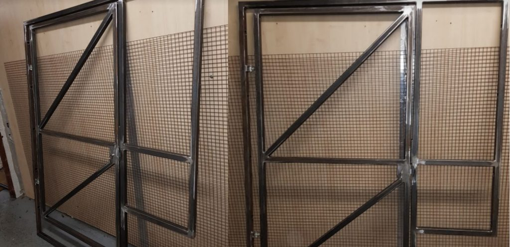 Custom Steel Gate Fabrication
