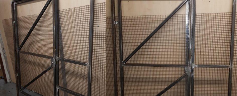 Custom Steel Gate Fabrication